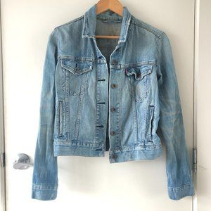 Levi's Distressed Light Denim Jacket